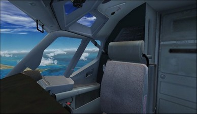boeing 737-800 co-pilot camera view