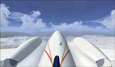 Bombardier Lear 45 Tail Camera View