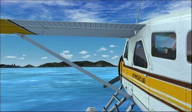 de Havilland Beaver DHC2 Left Float Camera View