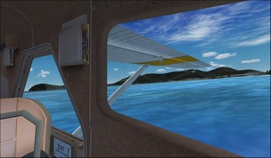 de Havilland Beaver DHC2 Right Backseat Camera View
