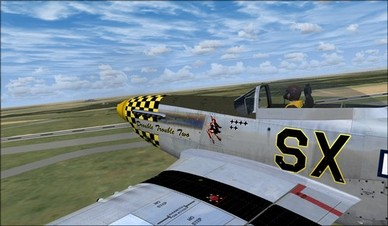 Wings of Power P-51D Left Side Camera View