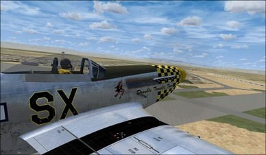 Wings of Power P-51D Right Side Camera View
